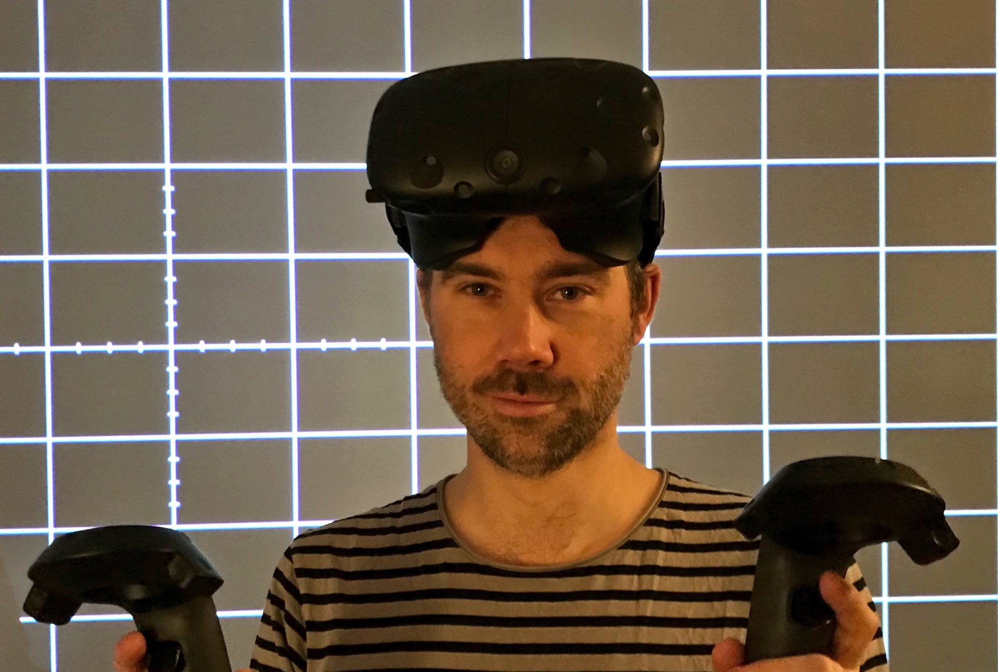 This is the new Oskar Burman, working at his own VR company 'Fast Travel Games'!