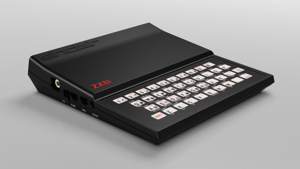 The ZX-81, Sir Clive did it again!