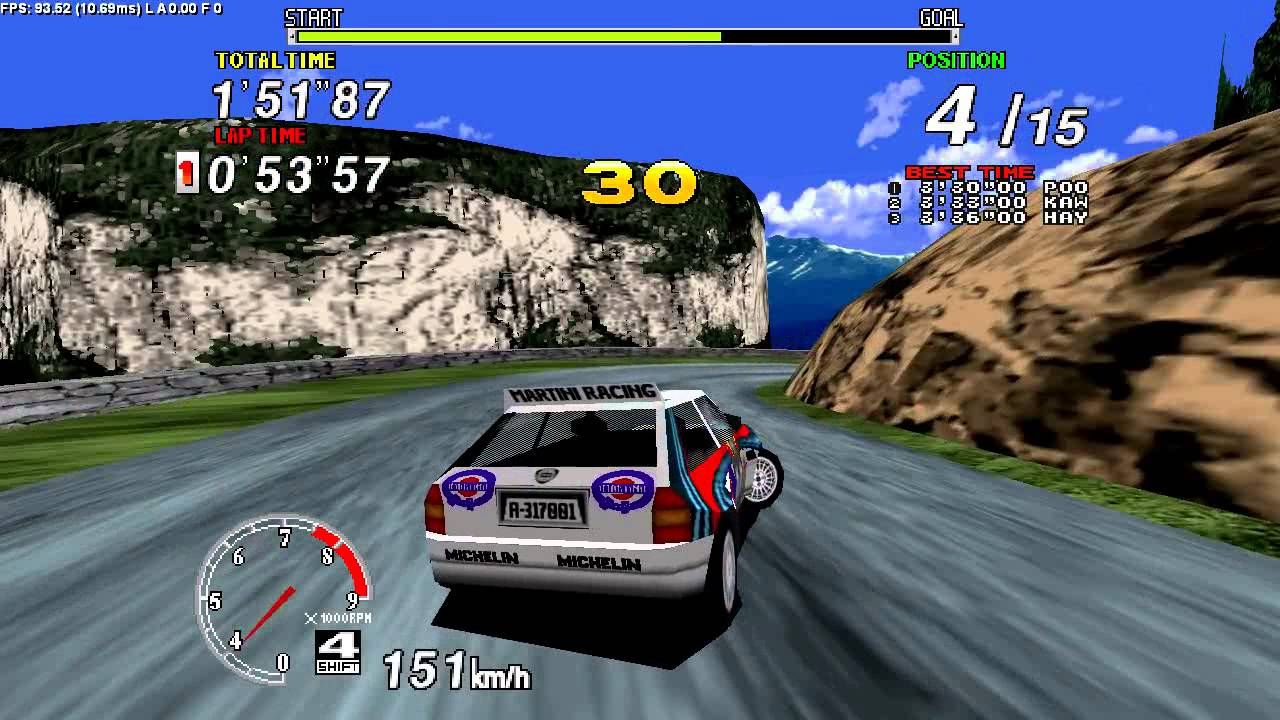 'Sega Rally' was such an amazing game back in the day...