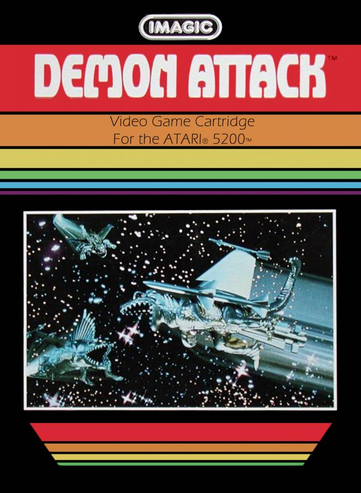 Demon Attack was one of Stefan's first gaming experiences. Played on his sister's Atari VCS.