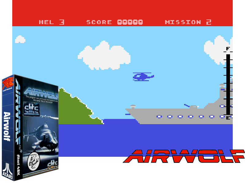 That in-game chopper doesn't look like Airwolf at all!