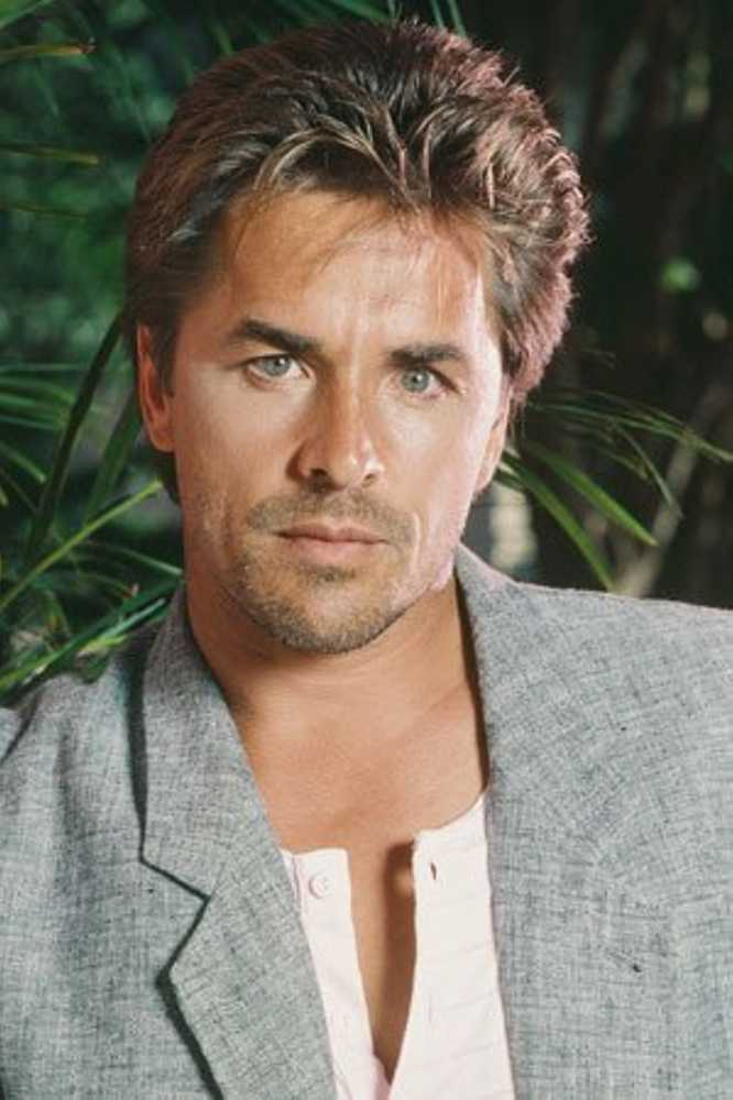Don Johnson ... The man with the best 80's haircut ever.