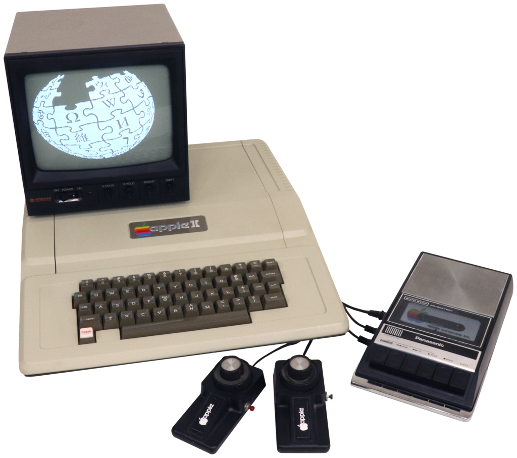 The Apple II is the first computer Ray ever got in touch with.
