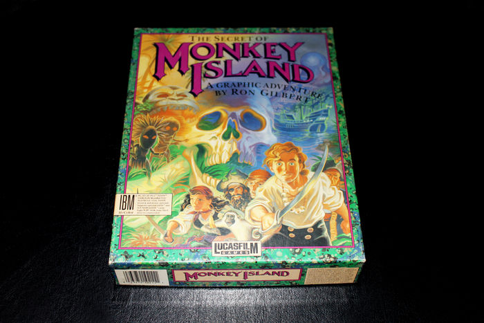 Who doesn't like The Secret of Monkey Island? One of Ray's favorite games.