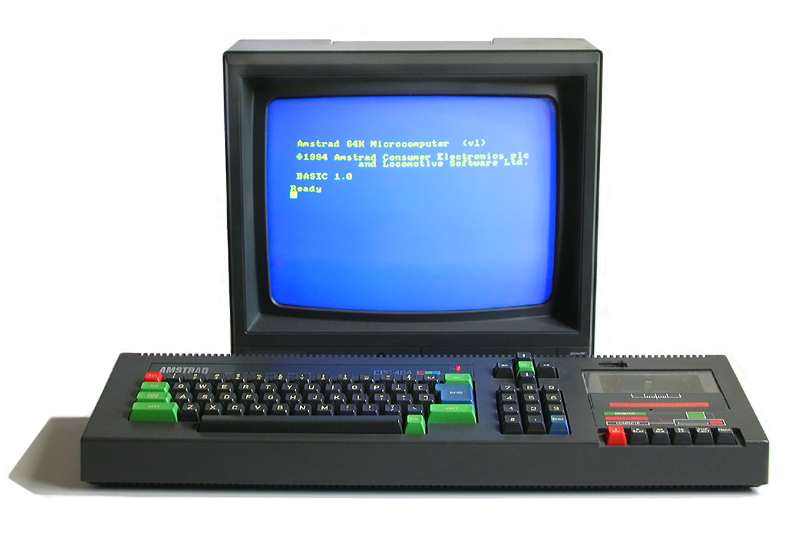 The Amstrad CPC was a very popular machine in France.