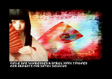 A screen from Japan Beauties and Troubles demo.