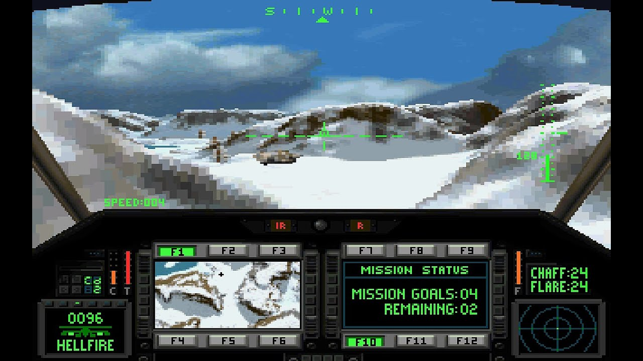 Commanche : Maximum Overkill, was the very first game using Voxel Space, which was created by Novalogic in 1992.