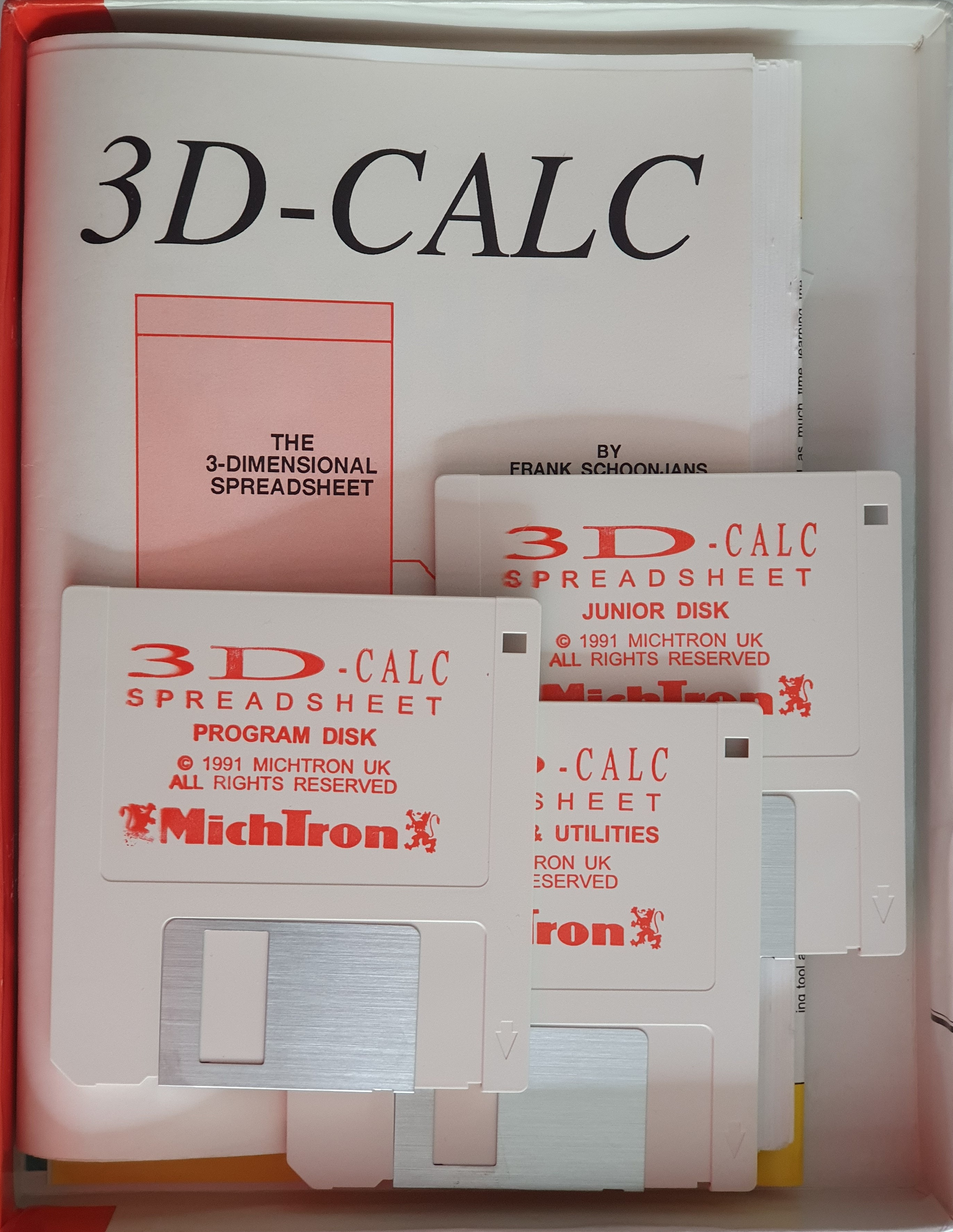 The box contents of the Michtron release.