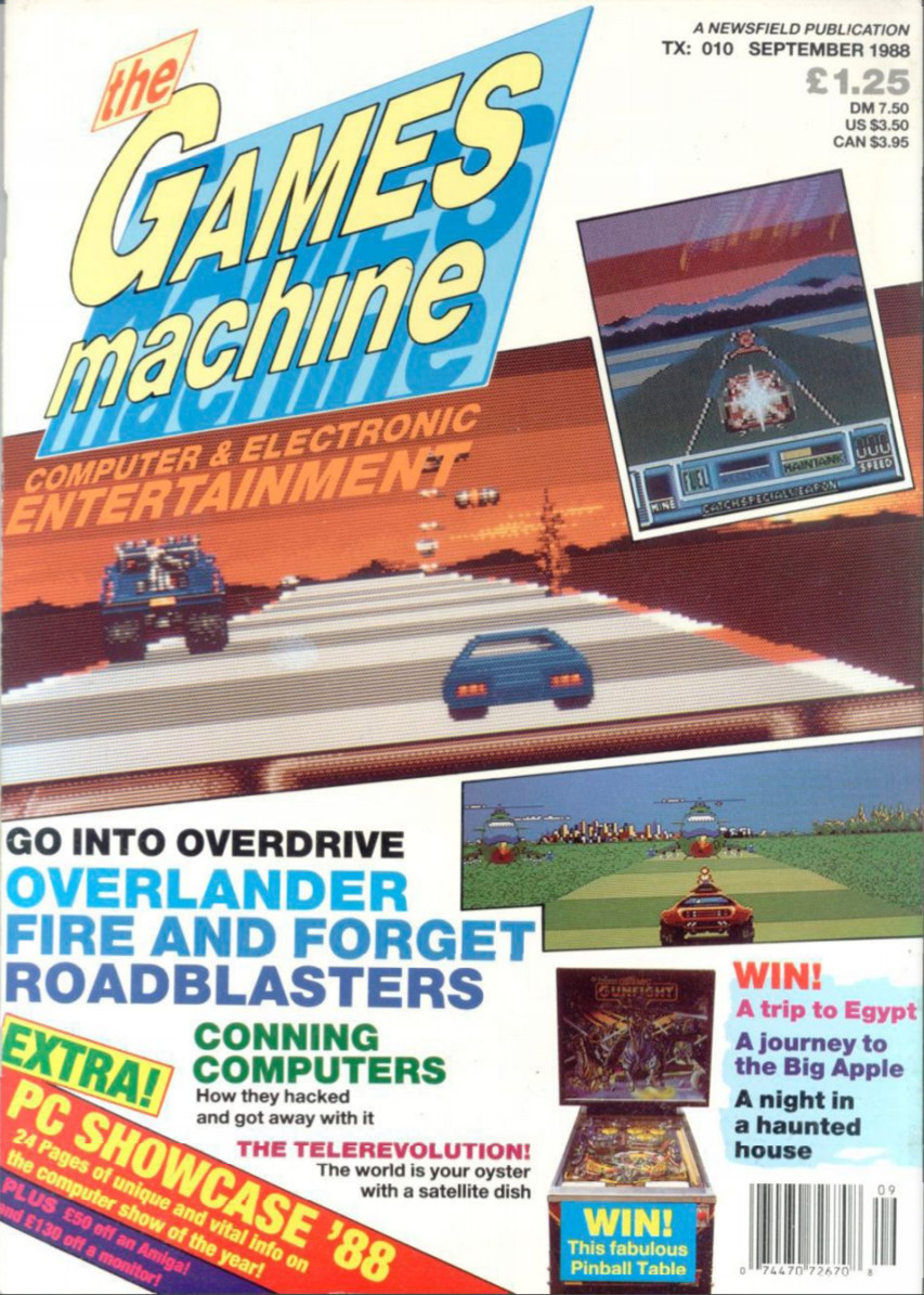 The magazine that started it all!