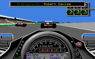Formula One Grand Prix, one of his favorite games of all time.
