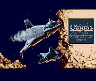 The final main screen designed by Lancelot of Aggression.