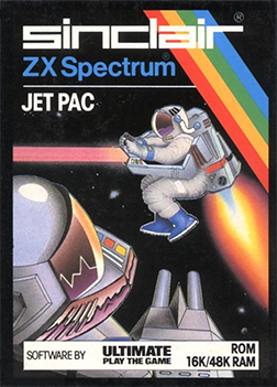 Jet Pac was one of the best selling games of Ultimate, the company that would later be turned into Rare.