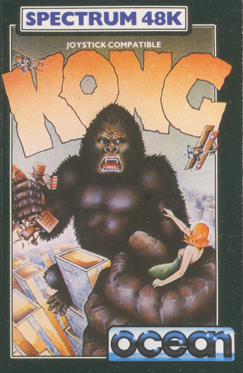 """""""we lived opposite a family who's eldest son was the author of 'Kong' by Ocean Games for the ZX Spectrum. I never met him though - he was a lot older and had moved away."""""""