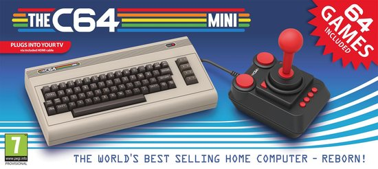 The C64 mini. A nice way to relive the past.