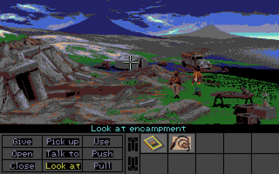 One of my personal favorite adventure games ever, Indiana Jones and the Fate of Atlantis, finally on the ST.