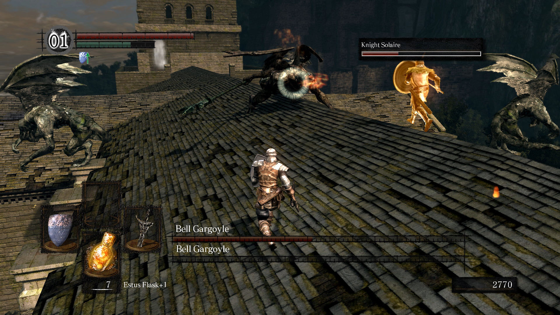 The original Dark Souls by FromSoftware.