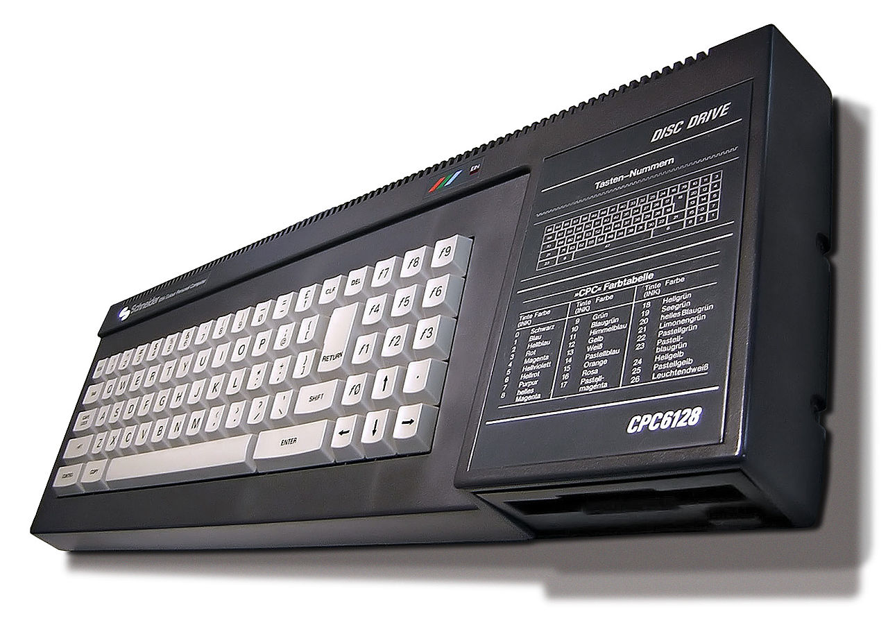 His parents bought him eventually an Amstrad CPC.