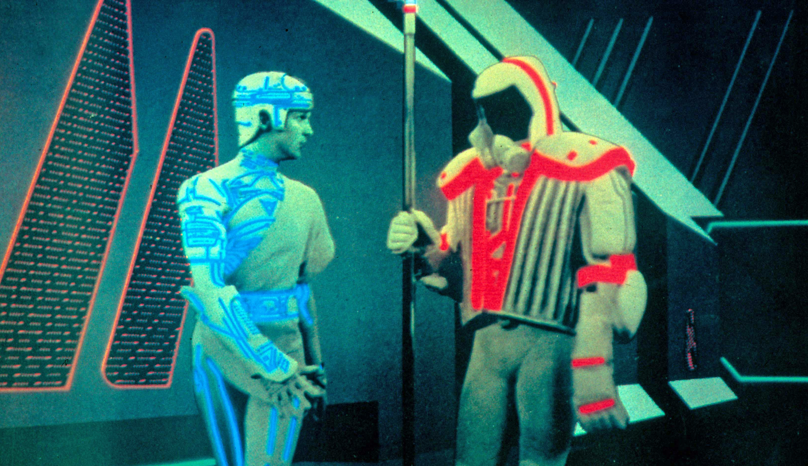 """'When films like Tron appeared I became more and more intrigued in the """"how"""" to achieve such computer visualisations.'"""