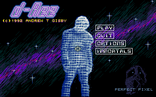 At least the title screen of the shareware game D-Rez was clearly inspired by the movie Tron.