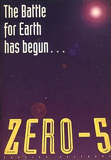 The box art of Zero-5 with the famous tagline.