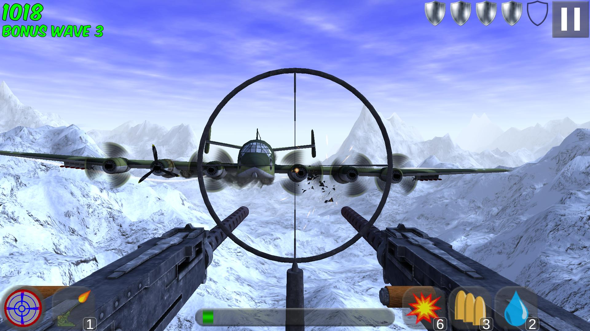 Tail Gun Charlie. One of the games Andrew made for the Xbox Live network.