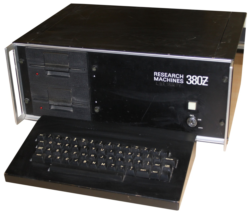 The Research Machines 380Z, the first computer Marcus ever laid eyes on.