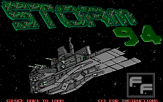 The STORM '94 version featured a ripped screen from Turrican 2: The Final Fight