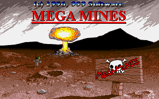 Mega Mines was one of the last ST games Robin worked on.