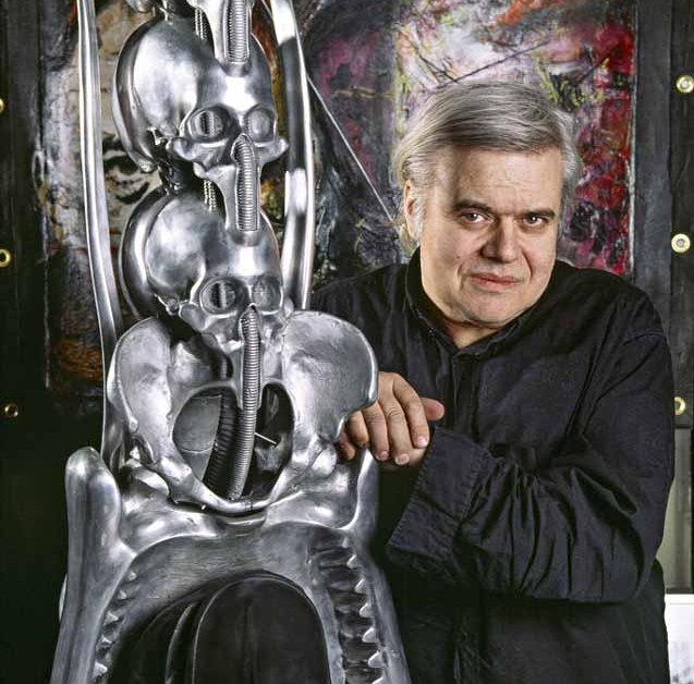 HR Giger, the father of the xenomorphs.