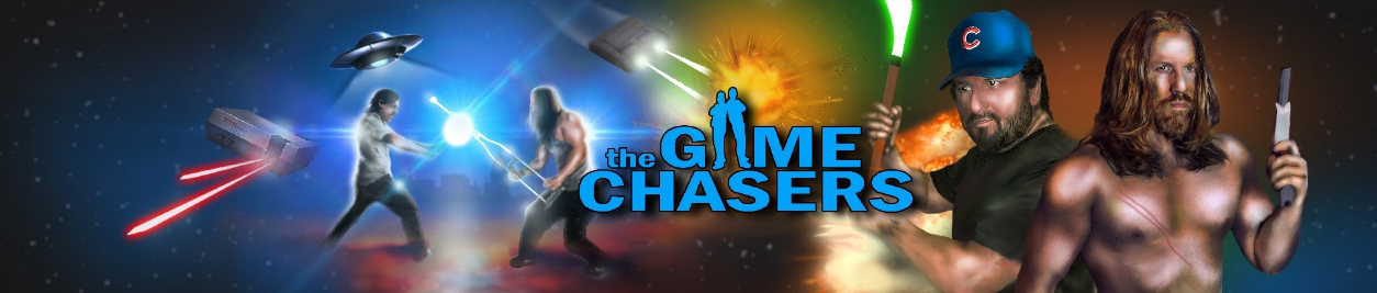 Screenshot of website The Game Chasers