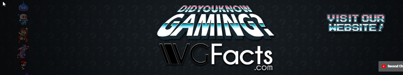 Screenshot of website DidYouKnowGaming